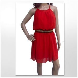 EUC Sweet Storm Summer Dress. Sz L